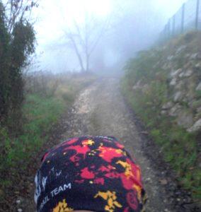 Romage retour Murier STL 06 dec 2015 Matin brouillard mer de nuage (1)